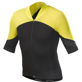 Mavic Cosmic Ultimate SL Jersey Men Black/Yellow Mavic